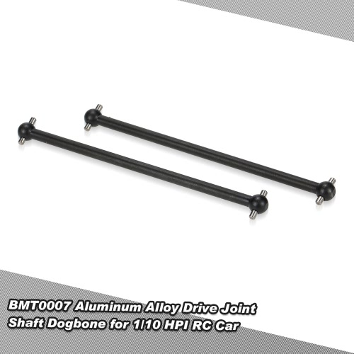 BMT0007 3.5inch Aluminum Alloy Drive Joint Shaft Dogbone for 1/10 HPI Bullet 3.0 ST MT WR8 RC Car