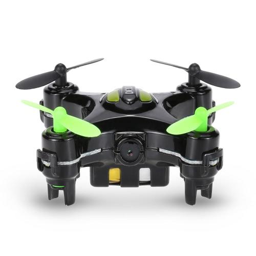 DHD D2 2.4G 4CH 6 axes Gyro RC Quadcopter Un-clé Retour Mode sans tête Caméra 3D 2x avec émetteur en forme de caméra RTF