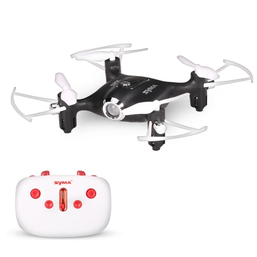 Syma X20 2.4G 4CH 6-axis Gyro Pocket Drone RC Quacopter RTF com Modo Headless Altitude Hold 3D-flip