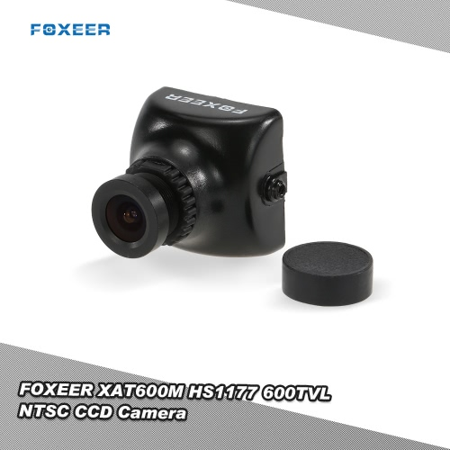 Original  FOXEER XAT600M HS1177 600TVL NTSC CCD Camera IR Blocked 2.8mm LENS for FPV Multirotor ZMR180 QAV210 250 Mini Racing Drone Quadcopter