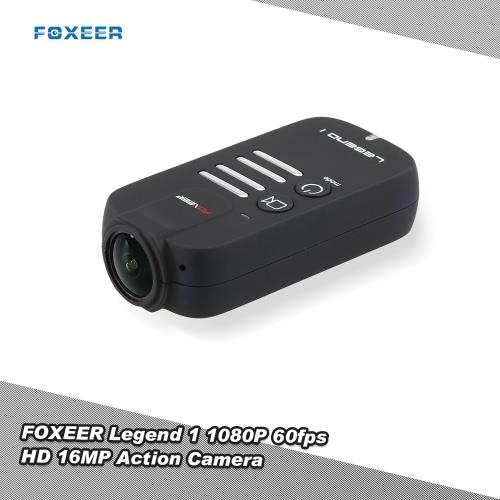 RC FPV MulticopterクワッドローターZMR180 QAV210 250レーシングドローンのためのオリジナルFOXEERレジェンド1 HS1186 1080P 60fpsのHD 16MPアクションカメラ