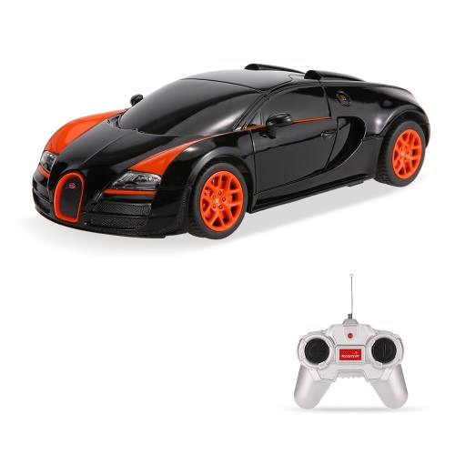Rastar 47000 27MHz R / C 1/24 Radio Bugatti Grand Sport Vitesse Remote Control Model Car