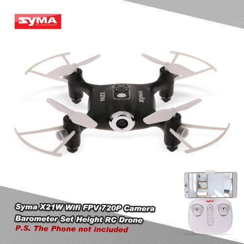 Original Syma X21W Wifi FPV 720P Camera Barometer Set Height RC Drone