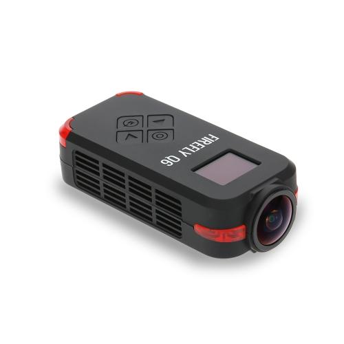 Originale Q6 Hawkeye Firefly 4K Videocamera HD FPV aerea 120 ° azione della macchina fotografica grandangolare per ZMR250 QAV250 GoolRC 210 QAV180 corsa Drone