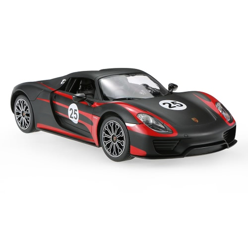 Original RASTAR 70710 1/14 PORSCHE 918 Spyder Weissach Radio Control Car Toy Boys Gift