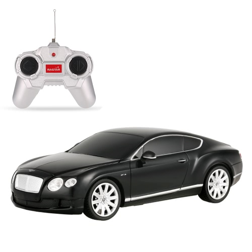 RASTAR 48600 R / C 1/24 Bentley Continental GT Radio de control de coches de control Toy Boys Regalo