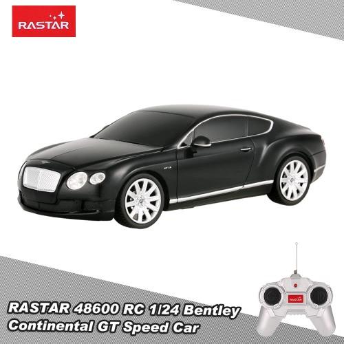 RASTAR 48600 R/C 1/24 Bentley Continental GT Speed Radio Control Car Toy Boys Gift