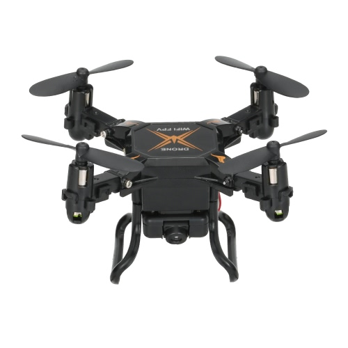 SBEGO 127W 2.4G 4CH 6-Axis Gyro 0.3MP Wifi FPV Foldable RC Quadcopter RTF Drone com 3D-Flip Headless Mode e One-Key Return