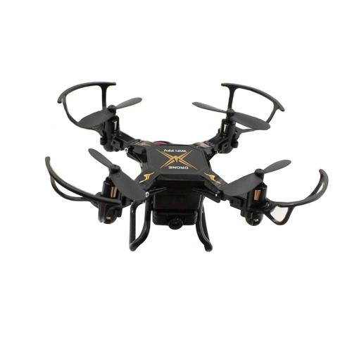 Sbego 127W 2.4G 4CH 6-Axis Gyro 0.3MP Wifi FPV pieghevole RC Quadcopter rtf Drone con 3D-Flip modalità senza testa e One-Key Return