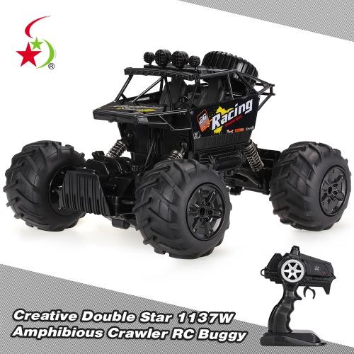 Creative Double Star 1137W 1/14 2.4G 4WD Amphibious Crawler Off-road RC Buggy Car