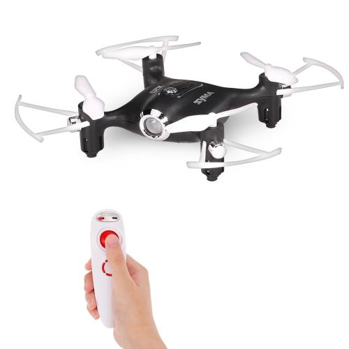 Syma X20-S 2.4G 4CH 6-aixs Gyro Gravity Sensor Pocket Drone RC Quacopter RTF com Modo Headless Altitude Hold 3D-flip