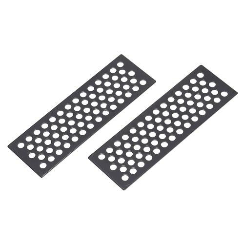 2Pcs Herramientas de la tarjeta de la escalera de la arena del metal para 1/10 Gelande II D90 D110 Traxxas HSP Redcat HPI TAMIYA CC01 Axial SCX10 RC4WD TF2 Rastreador de la roca de RC