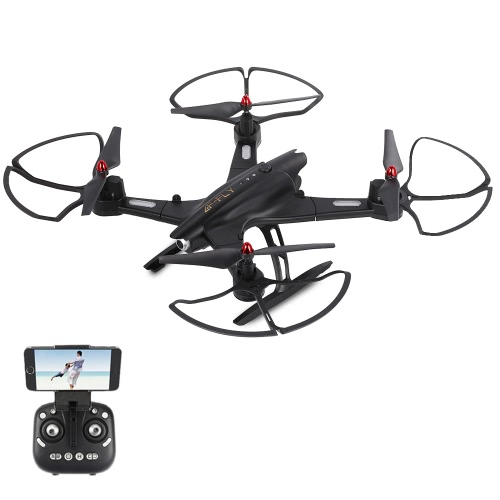 Utoghter 69508 Caméra grand angle 2.0MP Wifi FPV Roldesse RC RC2 2.4G 4CH Capteur Gyro à 6 axes Selfie Drone RTF Quadcopter