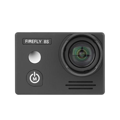 Hawkeye Firefly 8S 4K 90 ° FOV Sem distorção FPV Sport WiFi Camera para QAV250 H210 F450 F550 RC Quadcopter