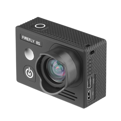 Hawkeye Firefly 8S 4K 90° FOV FPV Sport WiFi Camera - No Distortion Version