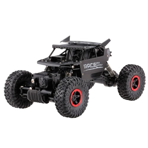 Flytech 9118 1/18 2.4G 4WD Alloy Body Shell Crawler RC Buggy Car