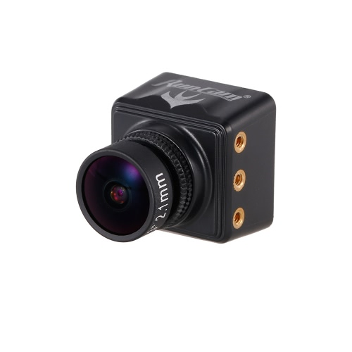 RunCam Swift Mini 600TVL 2.1mm Lens DC 5-36V FPV Camera OSD w/ IR Blocked NTSC for QAV250 Racing Drone Aerial Photography