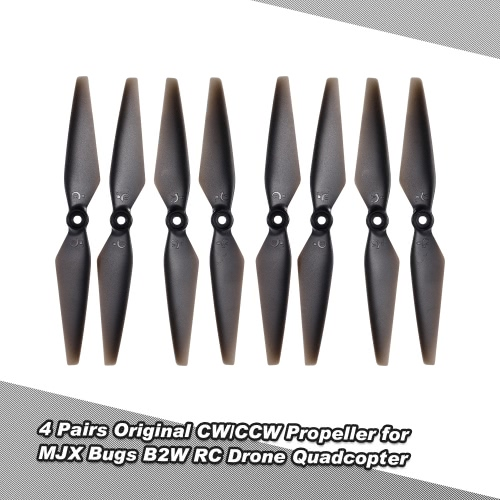 4 Pairs Original CW/CCW Propeller for MJX Bugs 2C  B2W RC Drone Quadcopter
