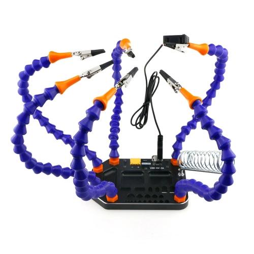Base intégrée à brasage six bras avec Banana XT60 XT30 T Bouchon et USB 5V Sortie RC Tool