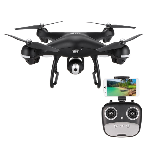 SJ R/C S70W 2.4GHz 720P Camera Wifi FPV Drone Altitude Hold G-sensor Follow Me Mode GPS RC Quadcopter