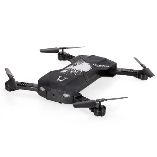 Original Utoghter 69506 WIFI FPV RC Quadcopter com 0,3M Altitude de câmera Alerta Drone Preto