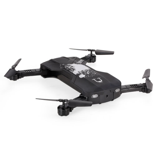 Original Utoghter 69506 Foldable WIFI FPV RC Quadcopter with 0.3M Camera Altitude Hold Drone Black