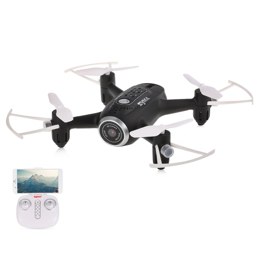 Original Syma X22W Wi-Fi FPV 0.3MP Câmera Selfie Drone 2.4G 4CH 6-Axis Mini Aircraft Altitude Hold RC Quadcopter RTF