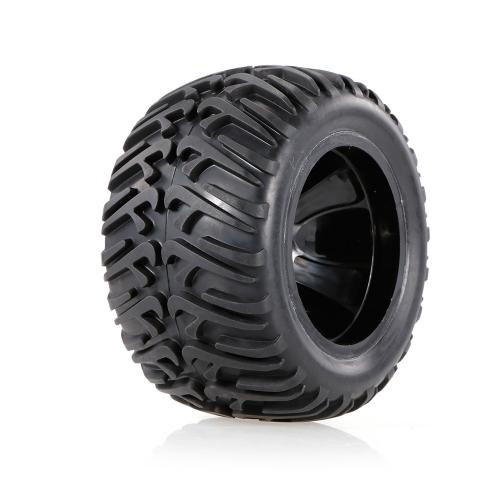 2pcs ruota e pneumatico della ruota del camion di 124mm di pollice di 2.67 pollici