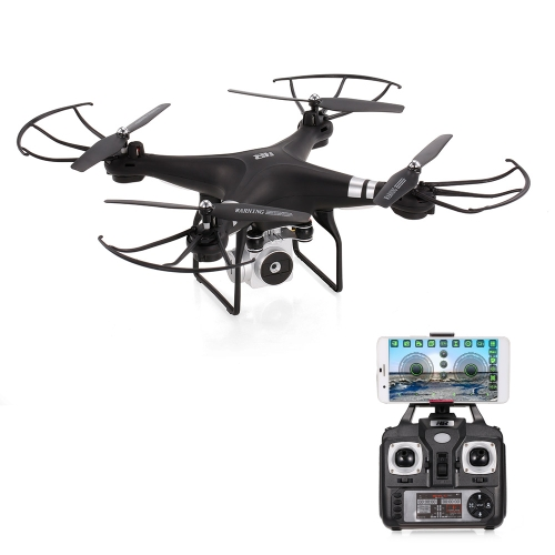 Originale HR SH5HD 2.4G 4CH 0.3MP Telecamera Wifi FPV Drone Altezza Hold Modalità Headless One Key Return RC Quadcopter
