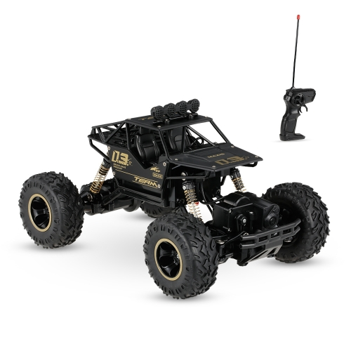 6288A 1/16 2.4G Alloy Body Shell Crawler RC Buggy Car