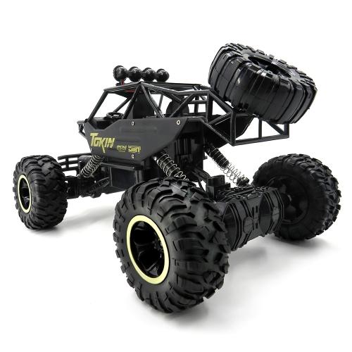 Carrozzina Flytec 6026 1/12 2.4G corpo in lega Shell Rock Crawler RC Buggy