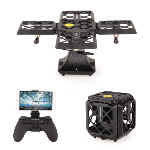 Cube 720P Camera Wifi FPV pieghevole RC Drone Quadcopter