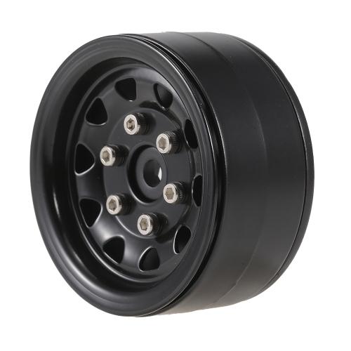 4pcs AUSTAR AX-617GL 1.9inch juego de llanta de rueda de Metal para Axial SCX10 RC4WD D90 1/10 RC Rock Crawler Car