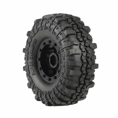4pcs AUSTAR 4020-2 110mm 1.9in Rim Rubber Tyre Wheel Set for AXAIL SCX10 90046 RC4WD D90 1/10 RC Rock Crawler Car