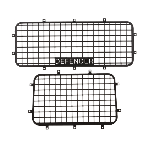Metal Window Mesh Protective Net for 1/10 RC Crawler Car Traxxas Trx-4 Parts