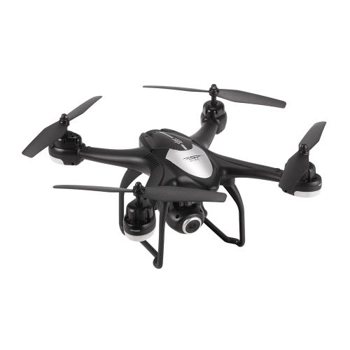 S30W 2.4G 720P HD Camera Wifi FPV RC Quadcopter Selfie Drone z GPS Pozycjonowanie One-Key Return