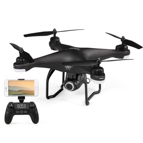 SJ R / C S20W1080P (GPS) Wifi FPV Regolabile 1080P HD Telecamera Wide Angle RTF GPS Posizionamento Altitudine Hold Drone w / 2 Batterie