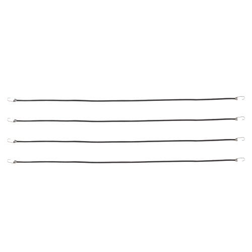 4Pcs 45cm elastische Dachgepäckträger Seilgepäckkabel