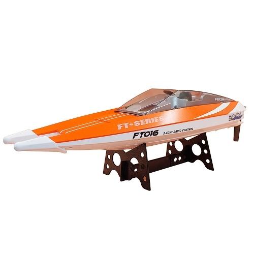 Oryginalny Feilun FT016 2.4G 30 km / h High Speed RC Racing Boat z funkcją chłodzenia wodnego z funkcją samoprostowania