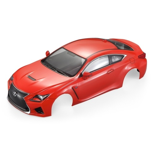 KillerBody 48649 257mm LEXUS RC F Finished Body Shell Frame