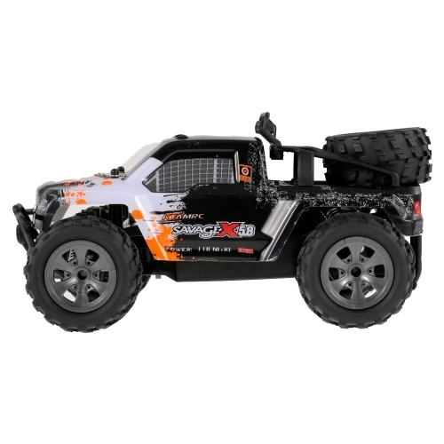 KY-1886A 2.4GHz 1-18 2WD Big Wheel RC Car Off-Road Buggy Pickup Truck for Kids Beginners