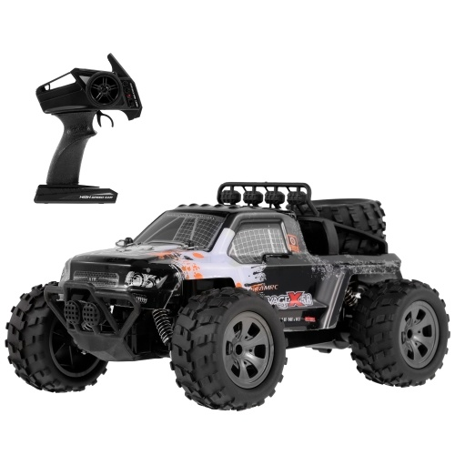 KY-1886A 2.4GHz 1/18 2WD Big Wheel RC Car Off-Road Buggy Pickup Truck for Kids Beginners