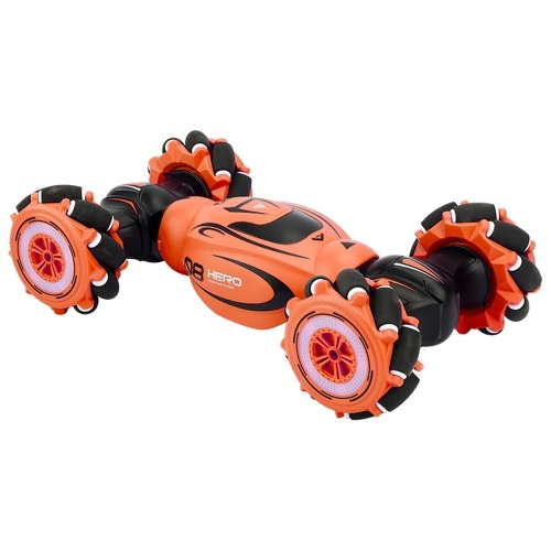 1:16 Watch/2.4GHZ Remote Control Double-sided Drive RC Stunt Car Image