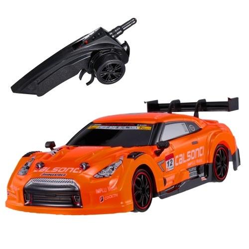 GT RC Drift Car 4WD Sport Racing Car 1/18 Carro com controle remoto para adultos Crianças presentes veículo RTR