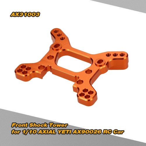 AX31003 Aluminum Alloy Front Shock Tower for 1/10 AXIAL YETI AX90026 RC Car