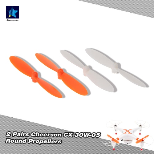 2 Pairs Original Cheerson CX-30W-05 Round Propellers for Cheerson CX-30 CX-30W RC Quadcopter