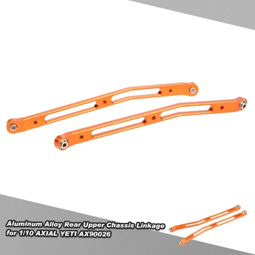 Aluminum Alloy Rear Upper Chassis Linkage for 1/10 AXIAL YETI AX90026