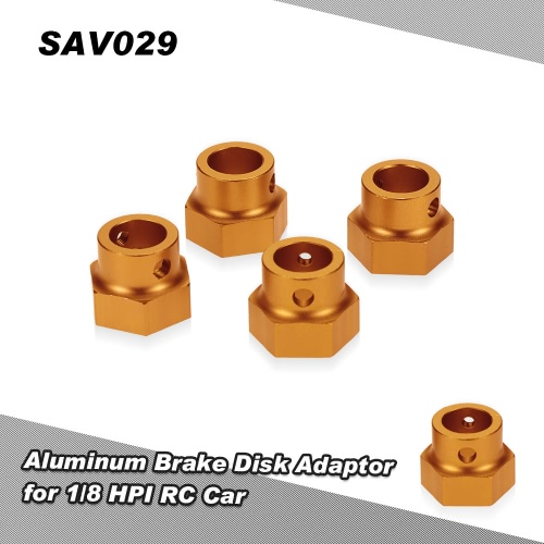 SAV029 Aluminum Brake Disk Adaptor for 1/8 HPI Savage XL Monster RC Car