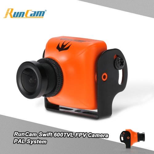 Oryginalny RunCam Swift 600TVL 2.8mm FPV PAL Kamera Lens & Podstawa uchwytu IR Zablokowane przez QAV250 180 210 RC Quadcopter