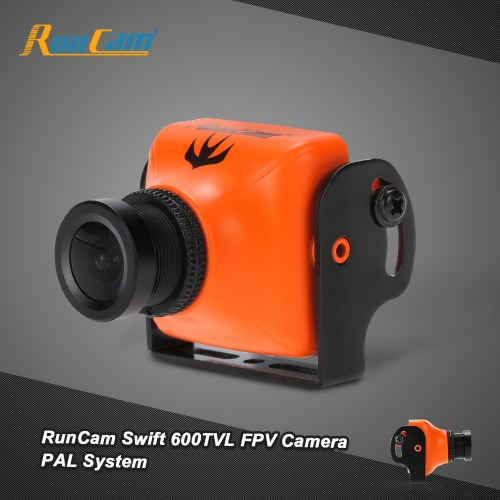 Originale RunCam Swift 600TVL FPV PAL fotocamera 2,8 millimetri Lens & Base Holder IR Bloccato per QAV250 180 210 RC Quadcopter